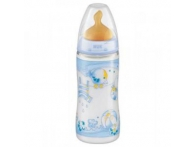 BIBERON CRISTAL T LATEX NUK FIRST CHOICE 240 ML